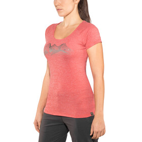 Millet Itasca - T-shirt manches courtes Femme - rouge